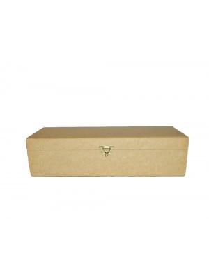 Caixa vinho com fecho - 37x12.5x10 - MDF 9 MM