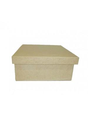 Caixa 20x20x10 tampa sapato - MDF 6 MM