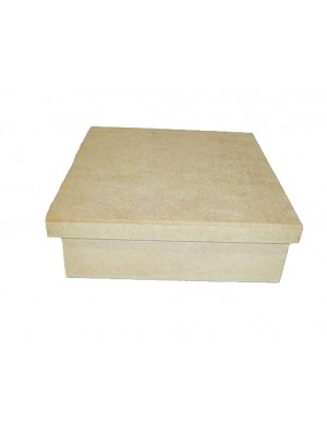 Caixa 23x23x7.5 tampa sapato - MDF 6 MM