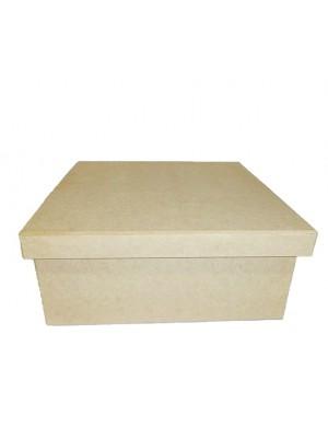 Caixa 30x30x12 tampa sapato - MDF 6 MM