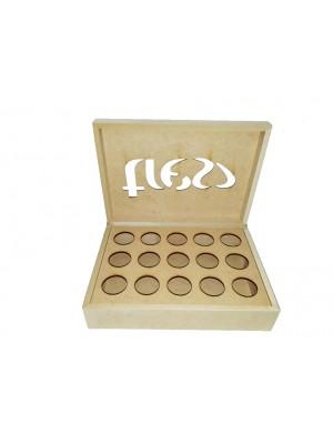 Caixa 15 capsulas Café - 29,5x22x8 - 3 C