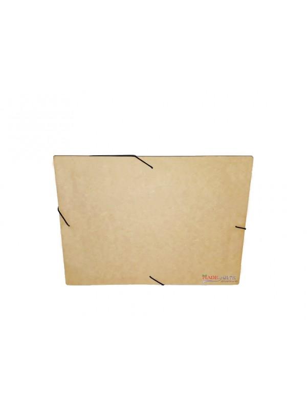 Caixa pasta documento tampa solta elástico - 36x26x5