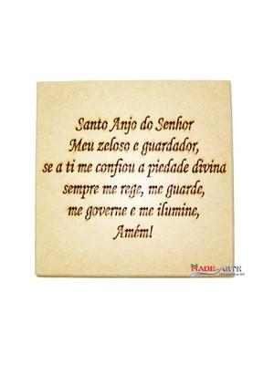 Caixa oração Santo anjo 26x26x7