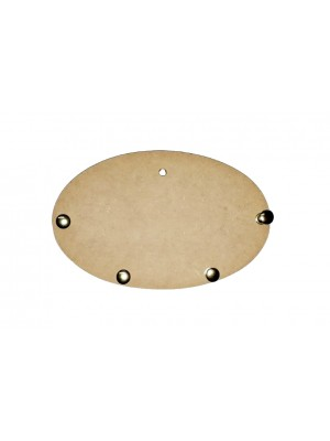 Porta chave oval 4 pinos - 17x10.5