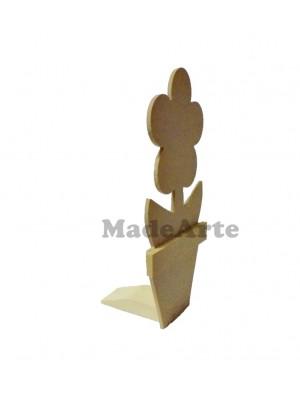 Cunha margarida vaso ( suporte para porta ) - 15.5x13.5x26