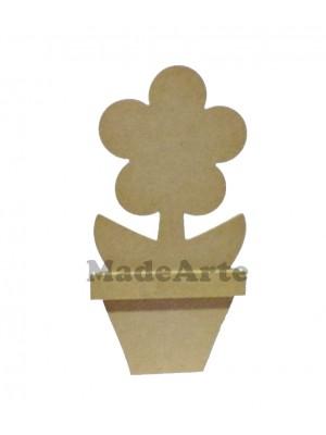 Porta rolo guardanapo margarida vaso - 15.5x13.5x26
