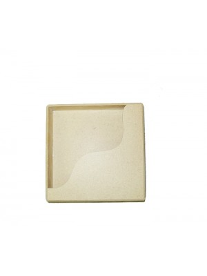 Caixa lenço guardanapo -14x14x4 - MDF 3 MM