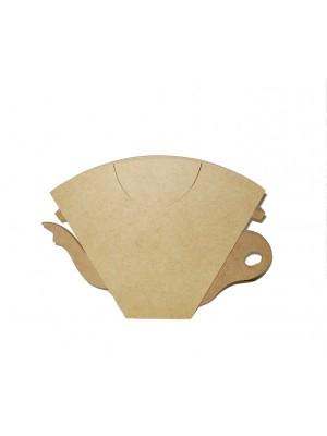 Porta filtro café com tampa - 27x3.5x18.5
