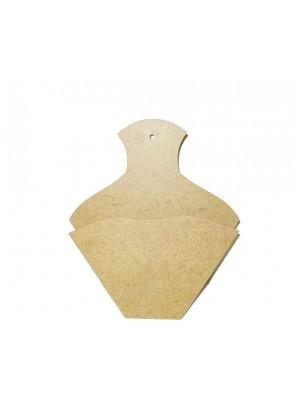 Porta filtro café sem tampa - 22x3.5x26.5