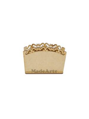 Porta guardanapo arabesco - 11x4x8