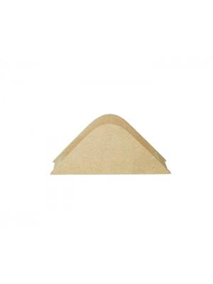 Porta guardanapo triangulo - 14x2.5x6