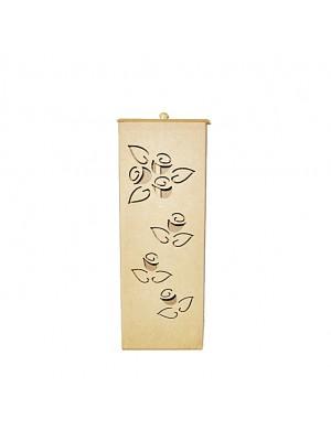 Porta Papel Higiênico Flor para 3 rolos