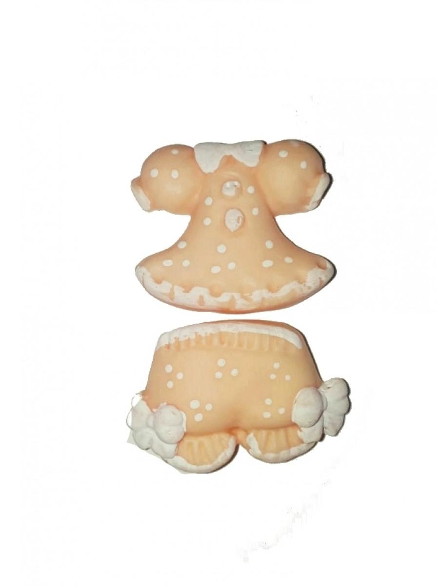 Baby doll rosa - Kit 2 peças