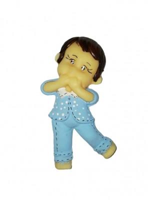 Menino pijama 4x8,5 - Kit 2 peças biscuit