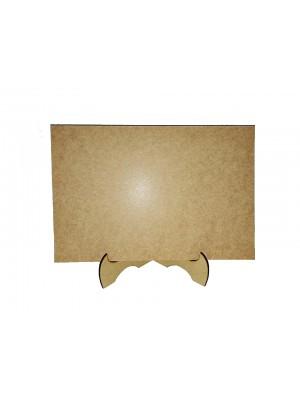 Kit 10 Placa 20x30 com suporte mdf 3 mm