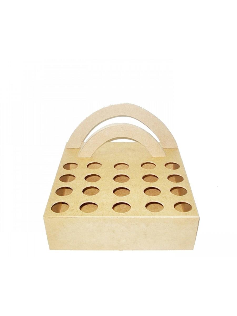 Porta chocolate e piruliteiro 25.5x25.5x14.5
