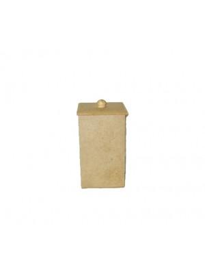 Pote porta cotonetes e algodão Pote 2 - 7x7x12