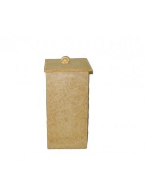 Pote porta cotonetes e algodão - Pote 3 - 7x7x14