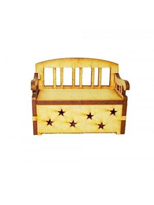 Miniatura de banco estrela