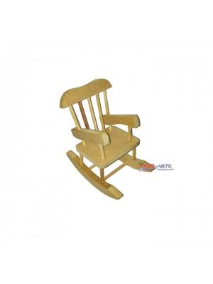 Cadeira Balanço P - 15x20,5x21 cm