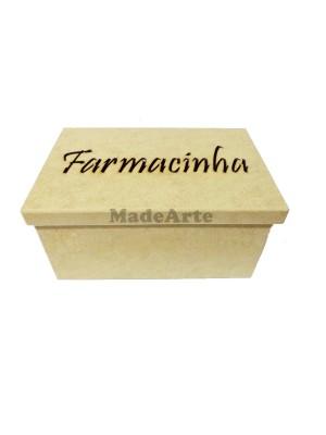 Caixa farmacinha tampa sapato - 28x18x13.5 - MDF 6 MM