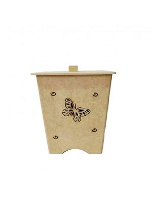 Lixeira borboleta - 19x19x23