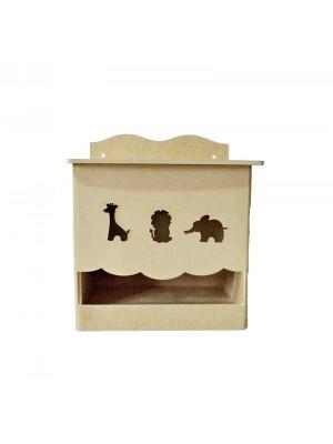 Porta fralda animais - 23.5x12.5x27.5