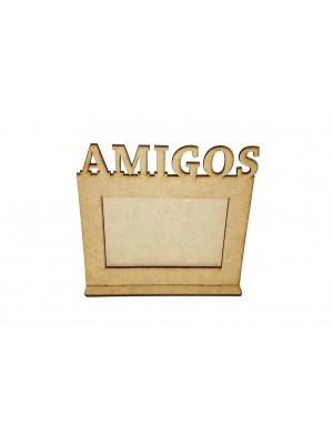 Porta retrato 10x15 base - Amigos