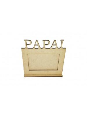 Porta retrato 10x15 base - Papai