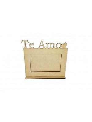 Porta retrato 10x15 base - Te Amo