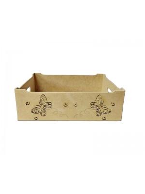 Porta treco borboleta - 27x22x10