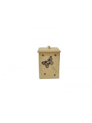 Pote borboleta - 8.5x8.5x11.5