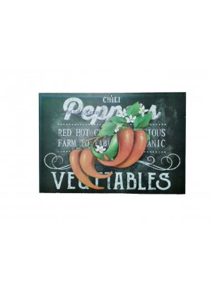 Quadro adesivado 20x30 - Peppers