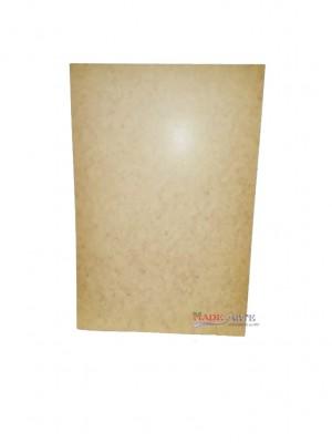 Placa Retangular 40x60 cm - kit c/ 5 UNIDADES