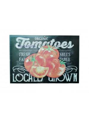 Quadro adesivado 20x30 - Organic tomatões