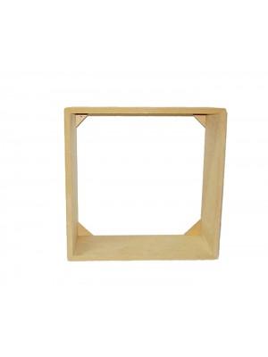 Kit nicho 4 peças - 20x20 / 25x25 / 30x30/  - 9 MM