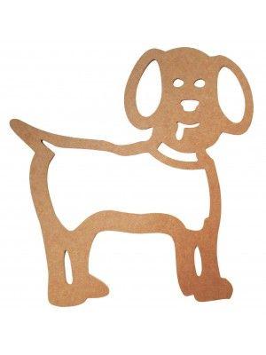 Cachorro vazado parede - 41x42