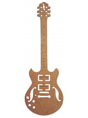 Guitarra vazada - 19x55