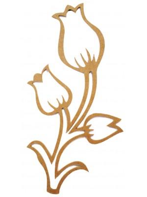Galho 3 tulipas G - 46X85.5