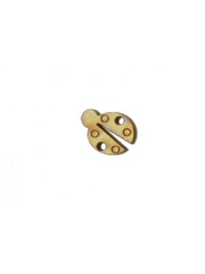 Botão joaninha - 1.5x2