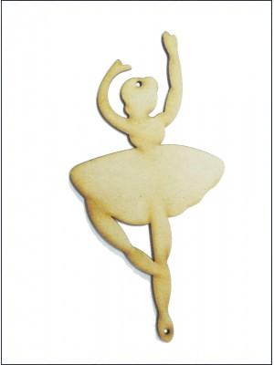 Bailarina 2 - Braços erguidos - 8x16