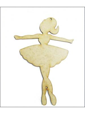 Bailarina 3 - Braços abertos - 11x16