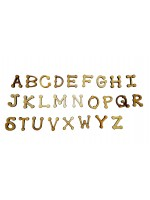 Alfabeto completo Country P - Kit 26 peças
