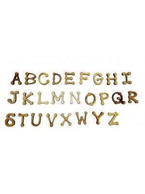 Alfabeto completo Country G - Kit 26 peças