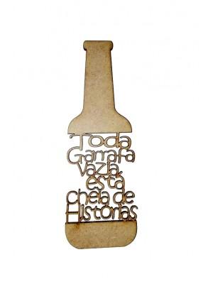 Frase -  Toda garrafa vazia esta cheia de histórias - 5x15